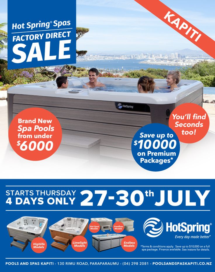 HotSpring Factory Direct Sale