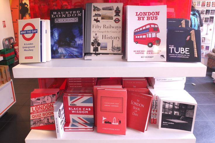London Transport Museum Gift Shop Best Buys