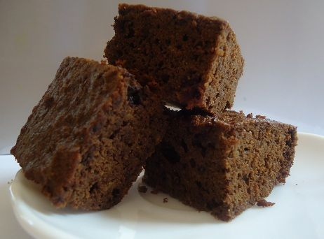 Coconut Flour Brownies (GLuten Free) found it on the Azukar Coconut Flour package just replace regular sugar with Stevia and add chocolate chips if you're feeling the need for a major chocolate fix, or chopped nuts if you're wanting nuts!