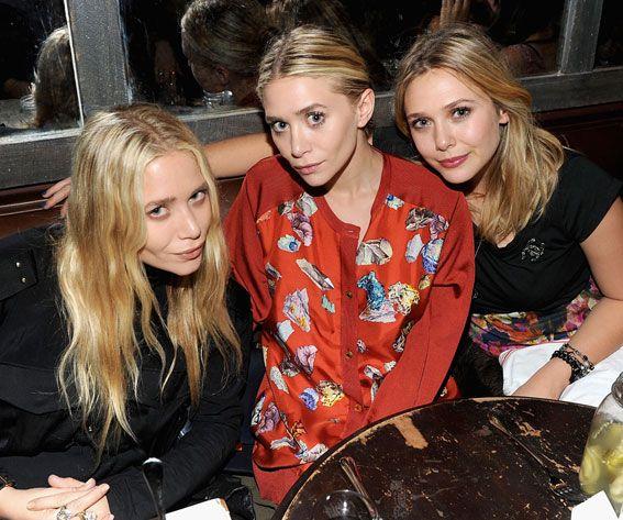 12 Stylish Celebrity Sisters We Love - Mary-Kate, Ashley, and Elizabeth Olsen from #InStyle