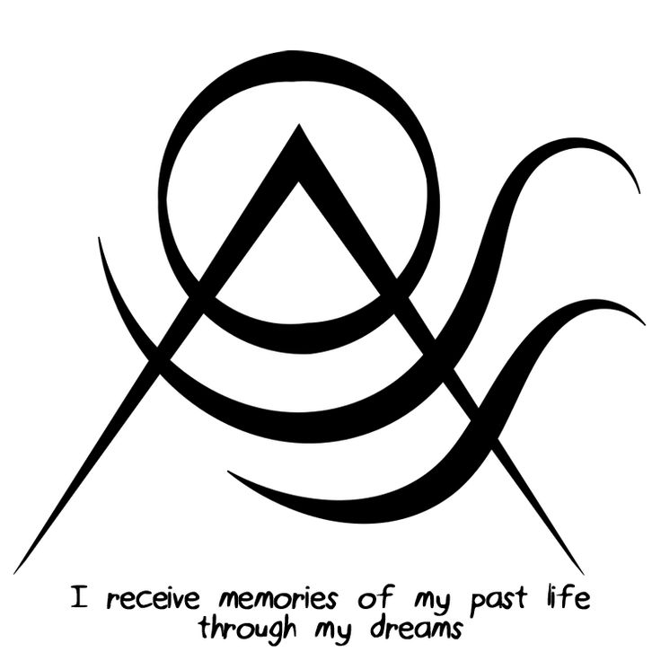 """I receive memories of my past life through my dreams"" sigil Sigil requests are closed."