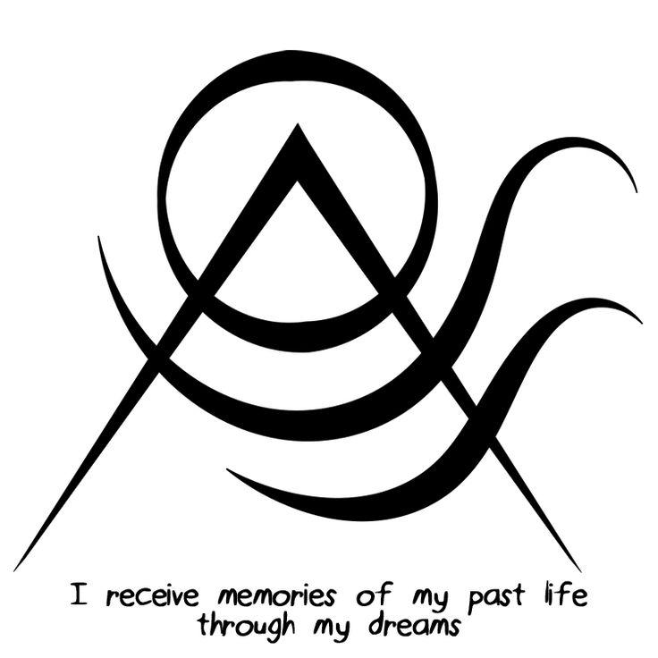 Recibo recuerdos de mi vida pasada a través de mis sueños