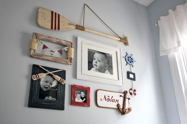nautical boys room | Nautical Gallery Wall - Something to be Found