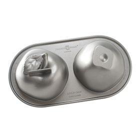 Molde bizcocho Manzana 3D Nordic Ware