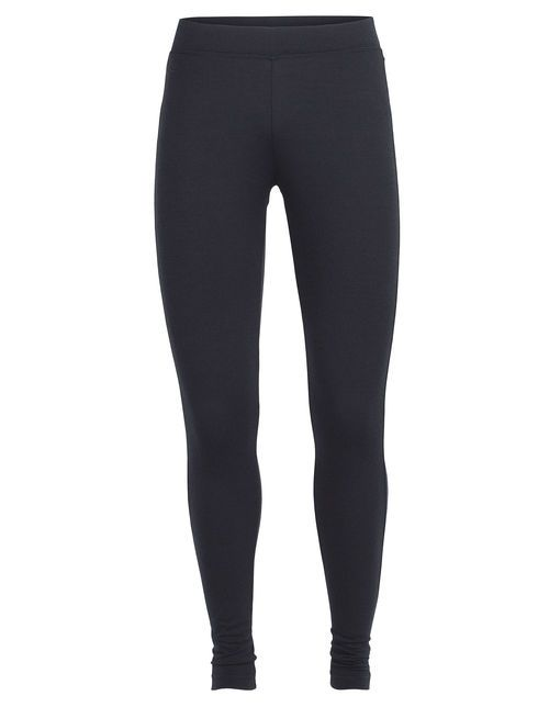 When you pack for your next adventure travel vacation, make sure you bring the Villa Leggings. Designed with the traveler in mind, they have a slightly lower, sculpted waistband that sits comfortably on the hip, and a relaxed bottom hem, giving them a casual style that fits as easily into a busy airport as it does on a mountain trail. Crafted from 260gm merino jersey, they keep you warm in cool conditions, but breathe well enough for comfort when it's warm. The also pack very small and f...