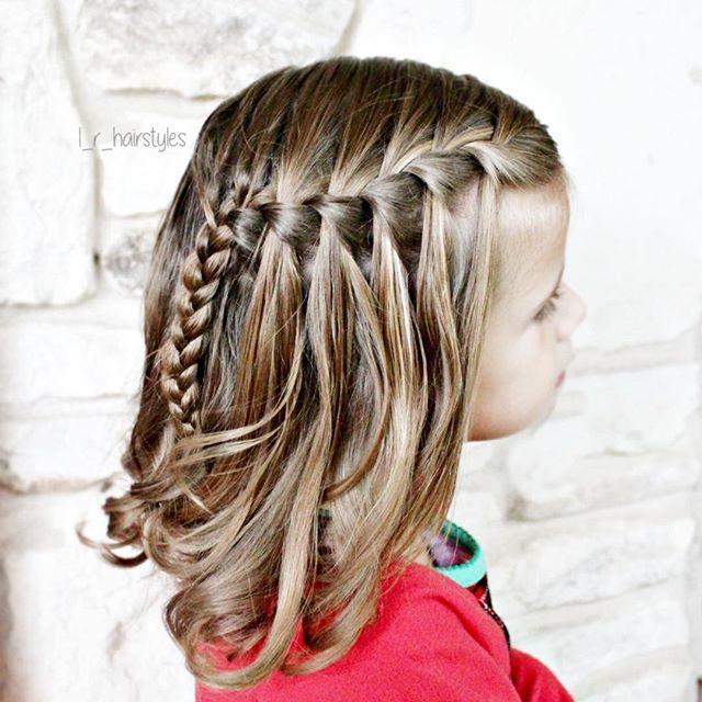Little Girl French Braid Hairstyles Hair