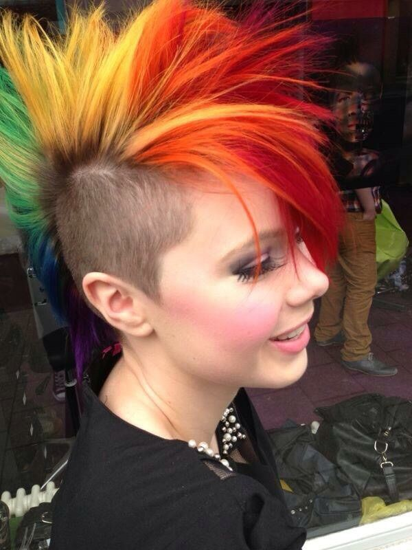 127 Best Mohawk Madness Images On Pinterest Madness Mohawk