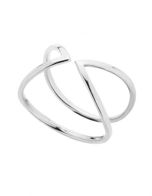 Pierścionek Point #silver #ring #jewelery #geometric #line