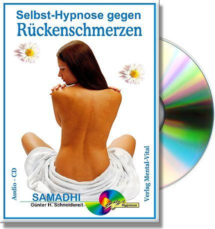 Meditation zur Linderung von Rückenschmerzen. Entspannung und wirkungsvolle Suggestionen helfen Verspannungen zu lösen. Als CD oder MP3 Download erhältlich.