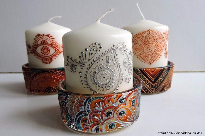 подсвечник со свечой от Shraddha (17) (700x466, 250Kb)