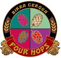 BirrainBo 2015: Le birre di CERQUA - Birra Cerqua - Four Hops - 6,5% alc - Birra ad alta fermentazione chiara tendente all'ambrato, dal sapore amaro e dal bouquet aromatico che spazia tra lo speziato e il floreale, a tratti resinoso, conferito dall'uso di quattro luppoli (Citra, Cascade, Simcoe e Amarillo), e dall'uso della tecnica del dry hopping.