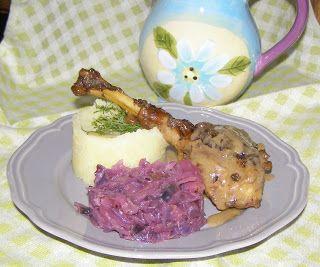 W Mojej Kuchni Lubię.. : szybkowar-udka z gęsi w sosie własnym...