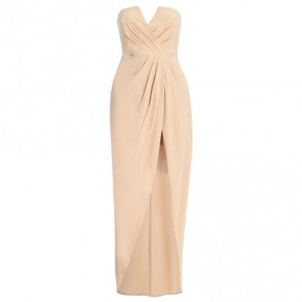 Leila bridesmaid dress Silk Reveal Long Dress - Clothing - Ready To Wear - Collections