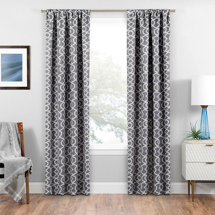 17 Best Ideas About Grey Blackout Curtains On Pinterest Window Curtains High Curtains And Bay