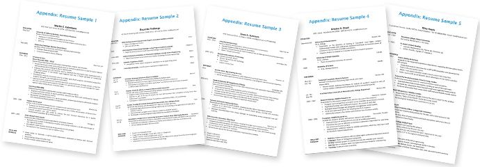 Consulting Resume and Cover Letter Samples