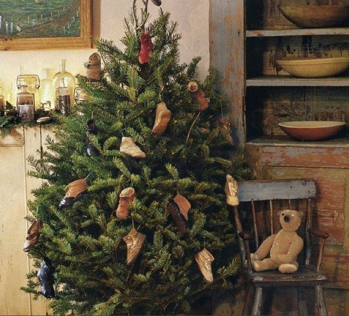 Primitive Christmas Decorating Ideas | Primitive Christmas