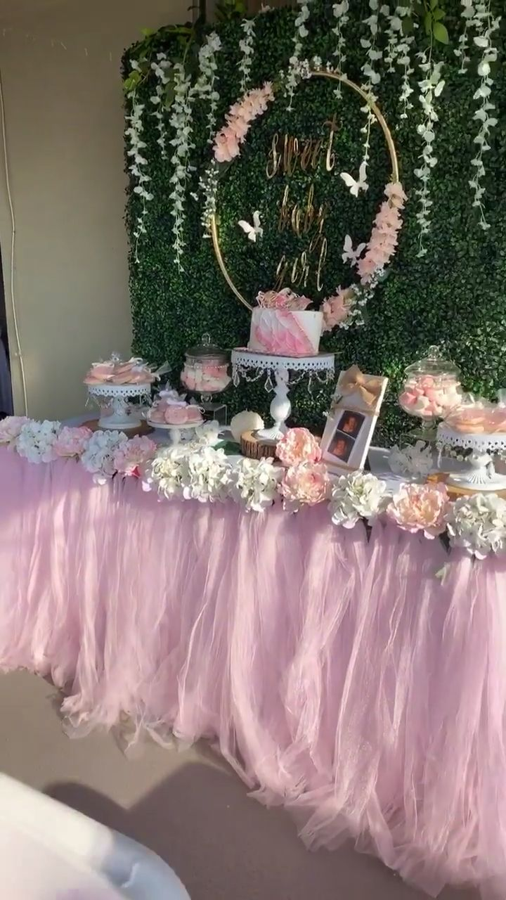 Sweet Baby Girl Baby Shower Video Baby Shower Girl Diy Butterfly Baby Shower Baby Girl Shower Themes