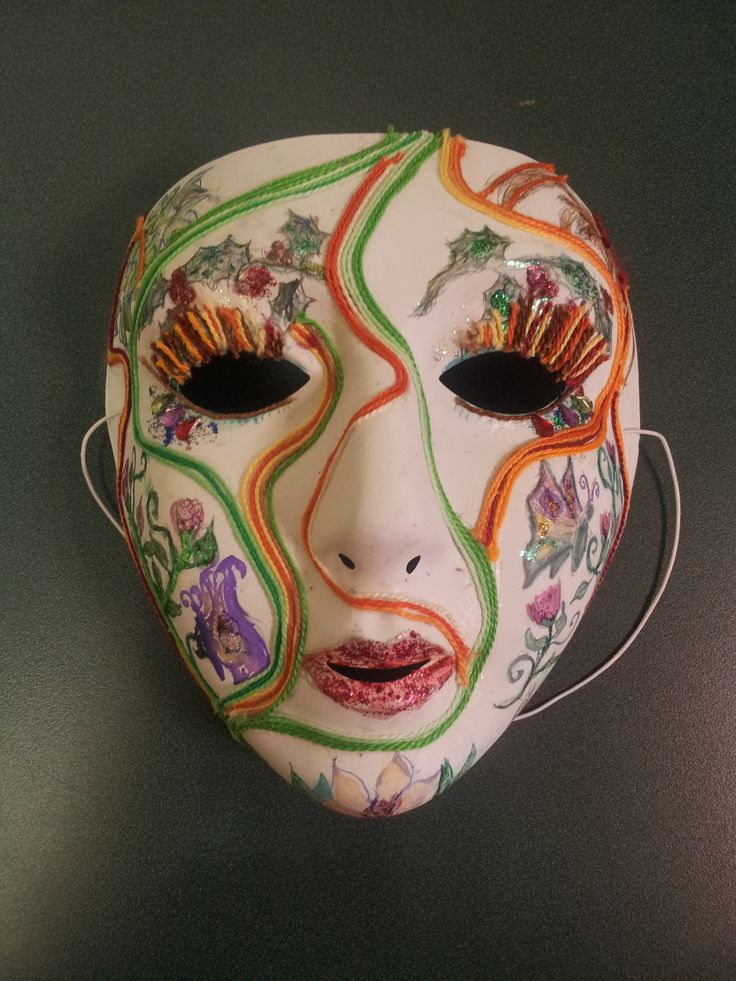 I chose this mask as the winner of our most recent craft competition because of the level of detail, like the glittery designs and cotton eyelashes. This talented volunteer took home an Amazon voucher as well as their study payment!