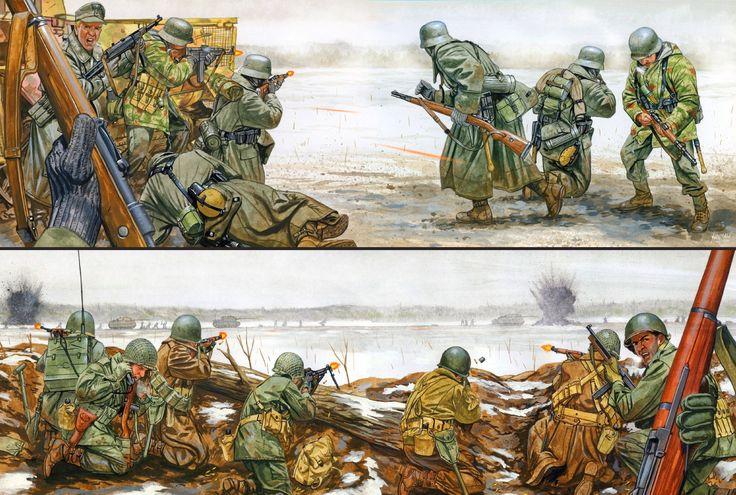 Panzergrenadier vs US Armored Infantryman, cortesía de Johnny Shumate.Más en http://www.elgrancapitan.org/foro/viewtopic.php?f=12&t=17519&p=874094#p874094