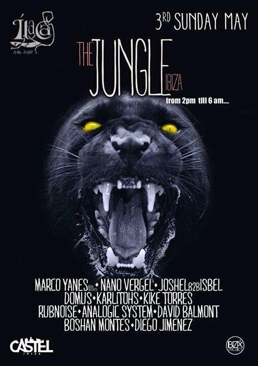 #NanoVergel >>>  Hoy toca the jungle@ Itaca  Today plays the jungle @ itaca