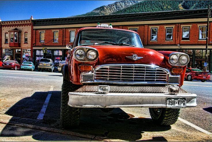 Four wheel drive Checker - Silverton, CO - John Johnson