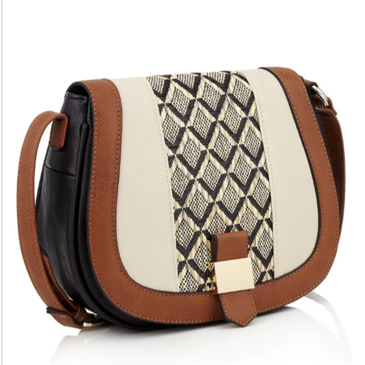 TO BUY: M&S - Collection: Faux Aztec Print Cross Body Bag £35