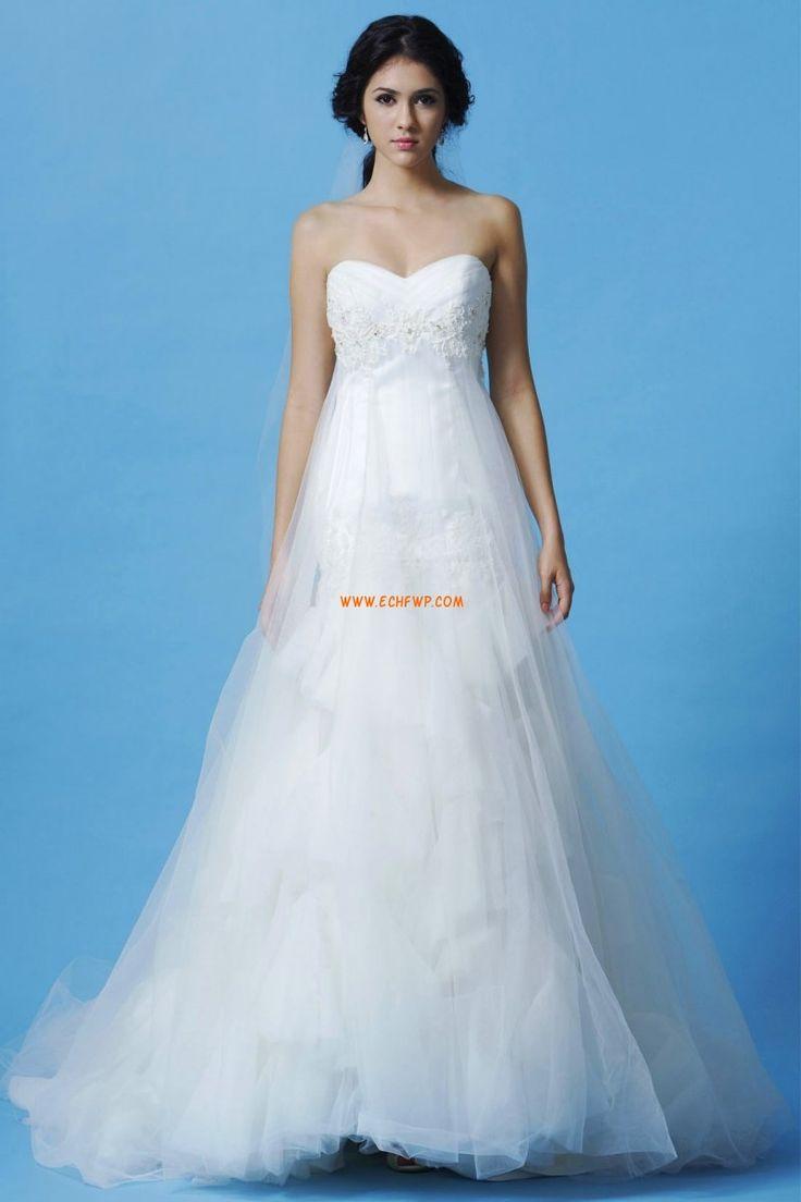 Srdíčko Léto Empírové Levné svatební šaty