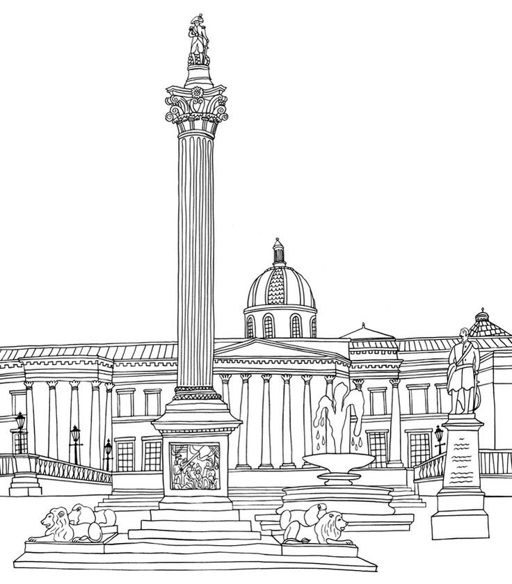 Buckingham Palace Coloring Coloring Pages