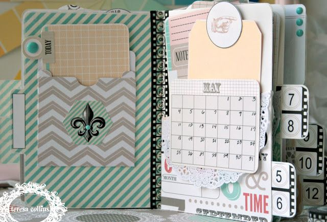 TERESA COLLINS DESIGN TEAM: Yvonne Blair and Cheri Piles Product Challenge using Memories Collection, the Assignment: Day Planners!
