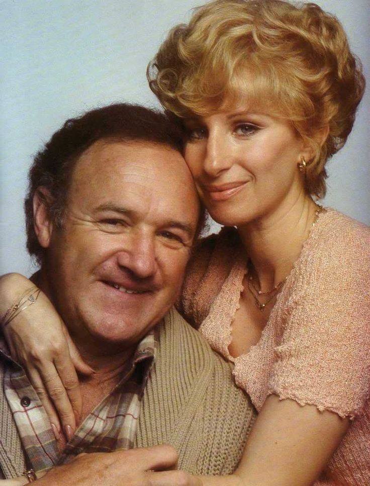 ALL NIGHT LONG (1981) - Barbra Streisand & Gene Hackman - Universal - Publicity Still.