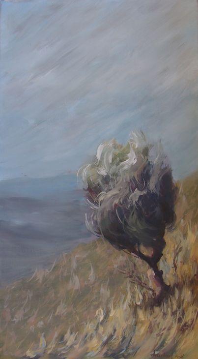 Acrylics on canvas 40x90cm