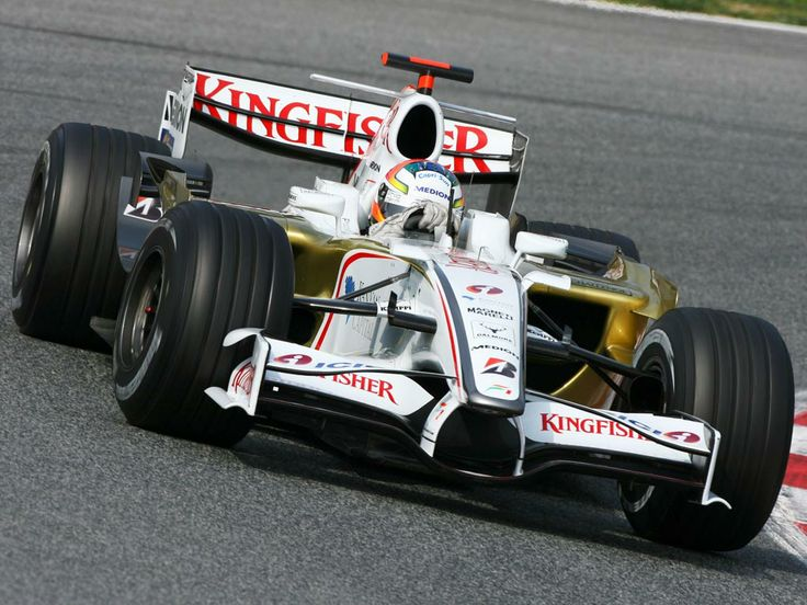 Adrian Sutil - Force India F1 Team / Barcelona (2008)