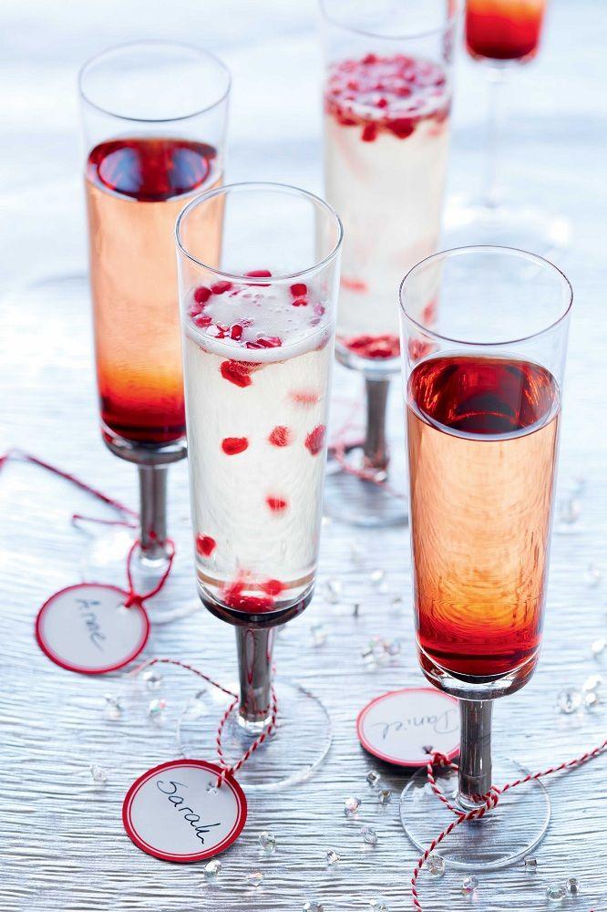 Le KIR IMPÉRIAL > une belle suggestion d'apéro pour vos 5 à 7 et célébrations du temps des Fêtes! #Noel #fetes #party #cocktail