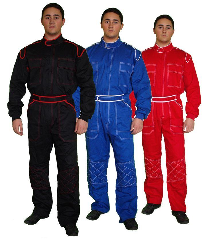 Overalls, coveralls, mechanics, workwear, work, wear, black, red ...