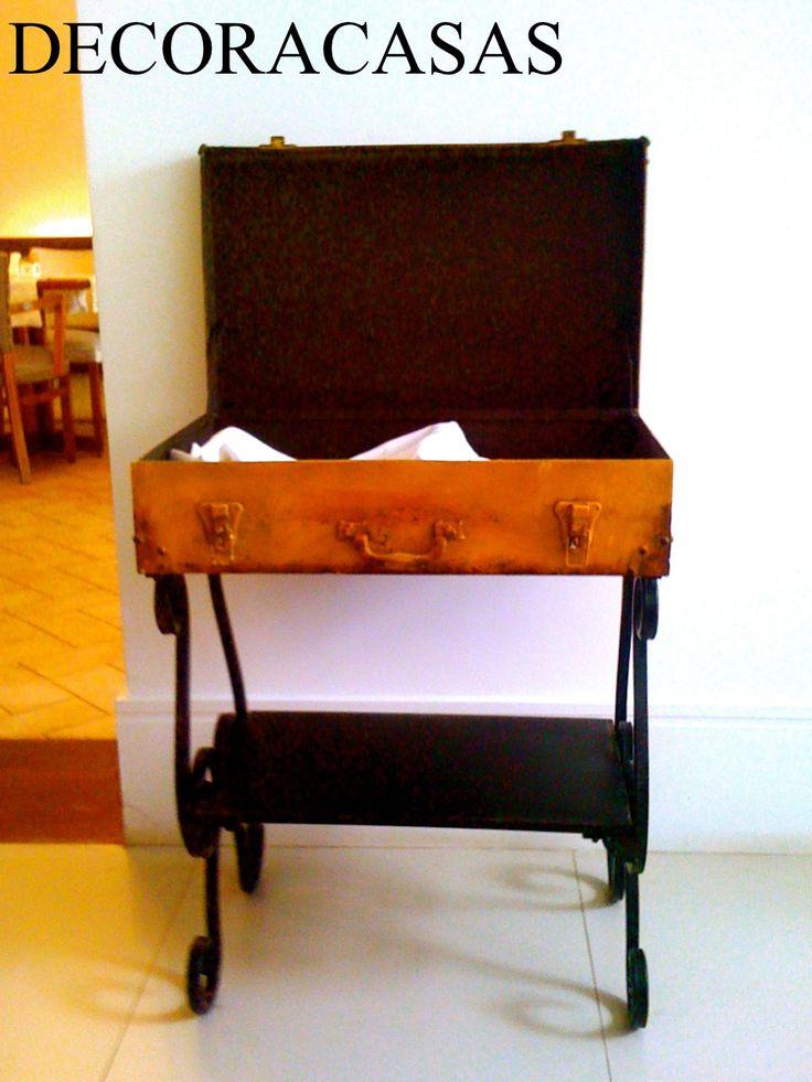 É uma mala ou uma mesa? - DECORACASAS | Flávia Ferrari