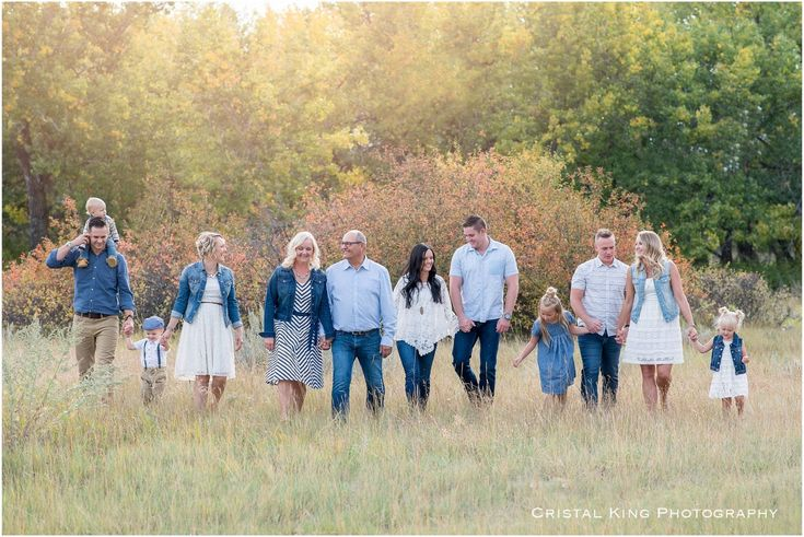 Extended Family Photos with Metzgers - Cristal King Photography