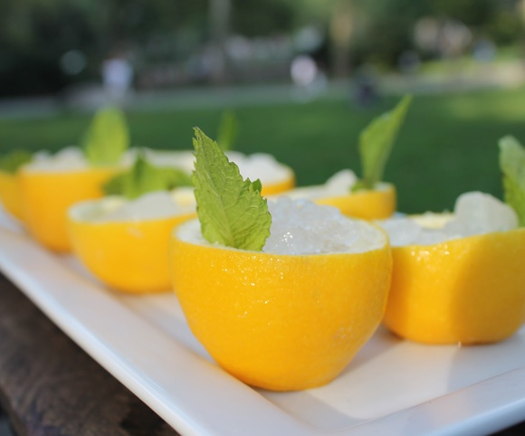 Recipe: Lemon Mint Granita | Vegan delightfulness. | Pinterest