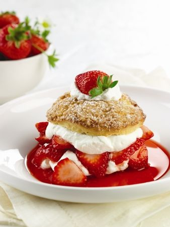 Classic Desserts by The Ritz-Carlton: Strawberry Shortcake. Yield: 10 Individual Servings. Prepare yourself for layers of light, sweet, fluffy, irresistible goodness. Few desserts conjure up memories of simpler times like this tried-and-true American favorite. Click to see the full recipe.