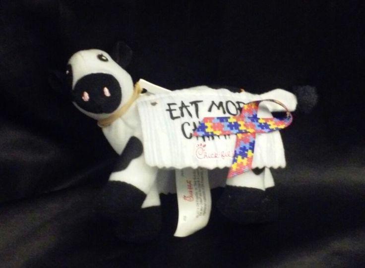 Chick-fil-a Cow Mini Plush #ChickfilA