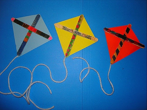 kite craft for toddlers