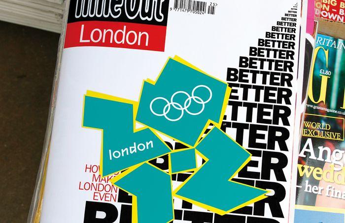 Celebrating the majesty of the 2012 Olympics logo