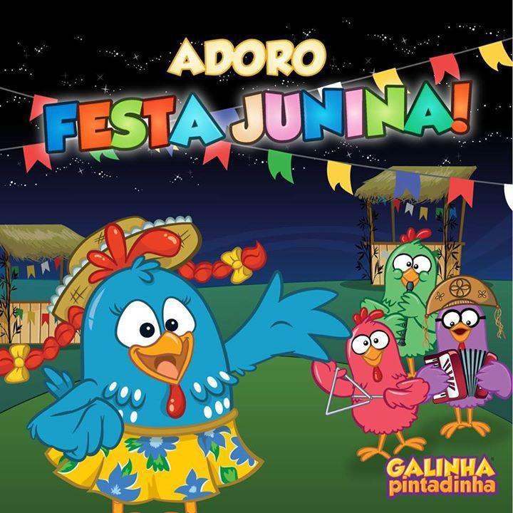 Festa Junina Com A Galinha Pintadinha Galinha Pintadinha Musica