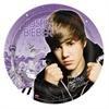 "Justin Bieber Dinner Plates. 9"". 8 per package."