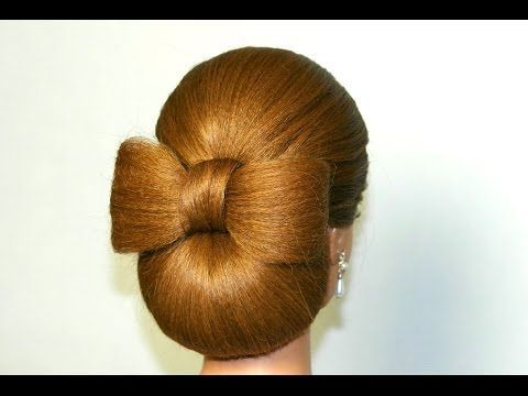 Wedding prom updo, hairstyles for long hair. Вечерняя прическа на длинные волосы. - YouTube