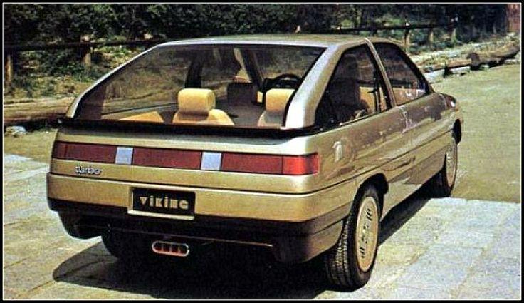 Perra Engine Nostalgia: Saab Viking concept car