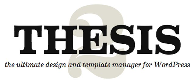 What is thesis wordpress