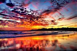 Fire, Puerto del Carmen  By Ed Jones