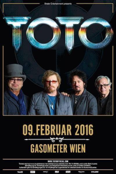 Toto, Toto Tour 2016, Wien, Austria, February 2016