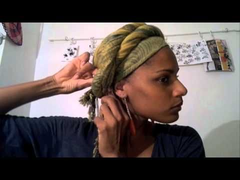 7 ways to use a scarf – 7 Head wraps.m4v – YouTube   – Hair