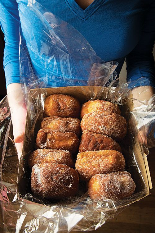 Leonard's Bakery Hawaii Malasadas Recipe (Saveur) | Butter, milk, and half & half give these Portuguese-style donuts their distinctive richness and luscious texture.